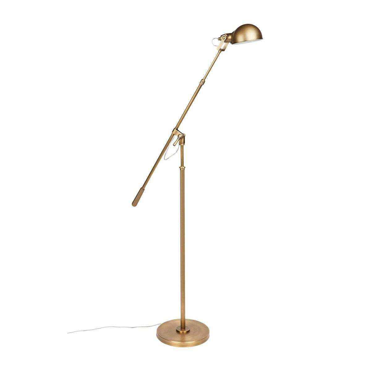 Arden Brass Floor Lamp
