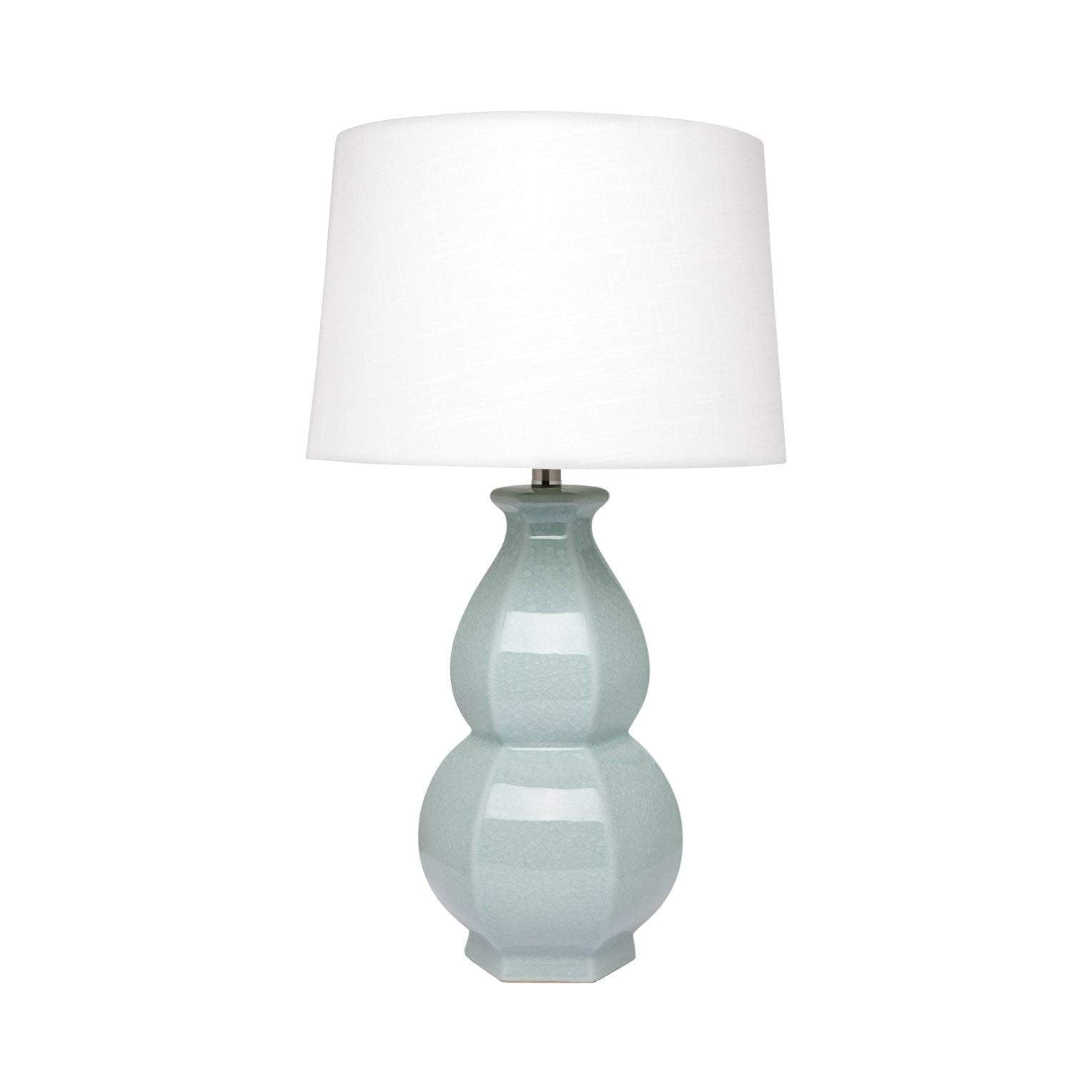 Erica Ceramic Table Lamp - Duck Egg Blue
