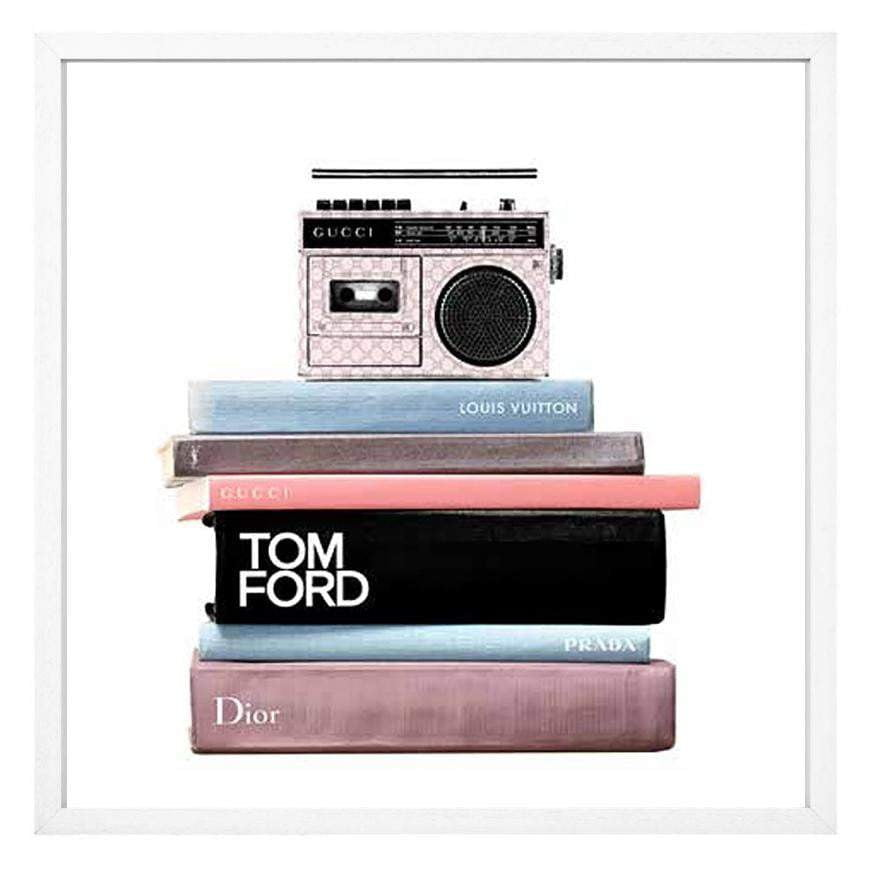 Books and Stereo - Tom Ford Fashion Print