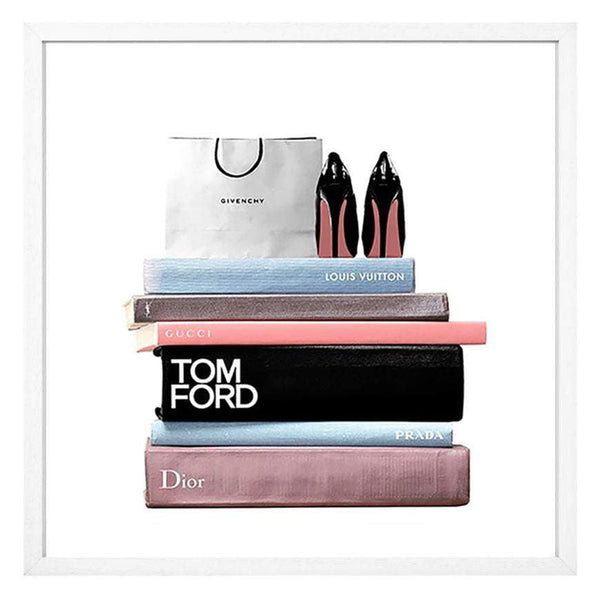 Books and Bag - Tom Ford Fashion Print