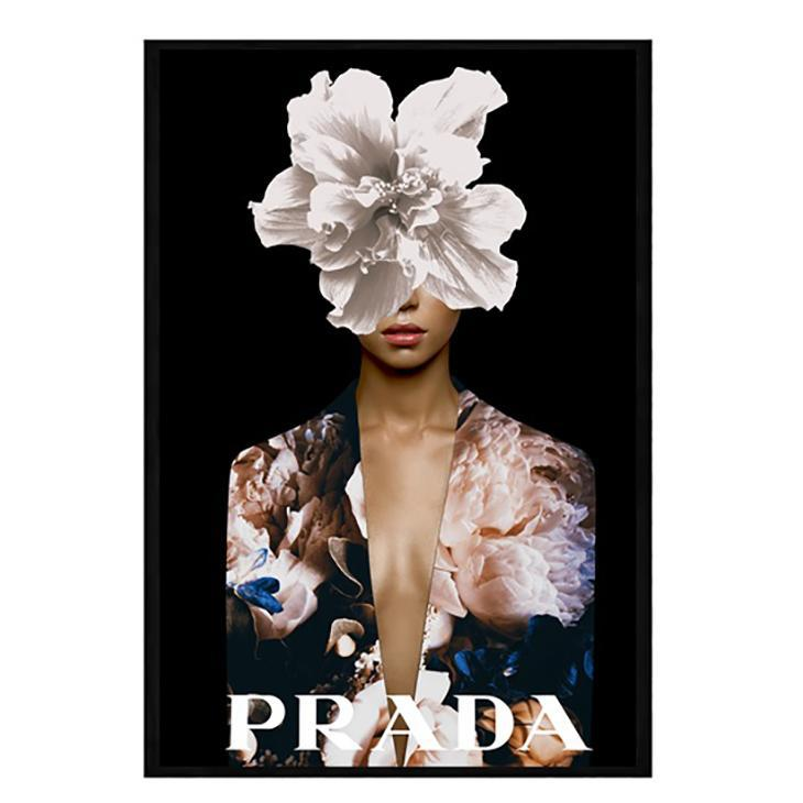 Prada Girl Fashion Wall Art