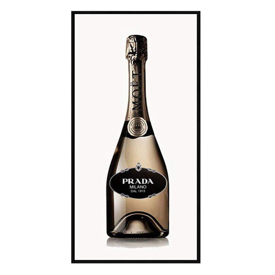 Bubbly Prada Wall Art | Fashion Wall Art
