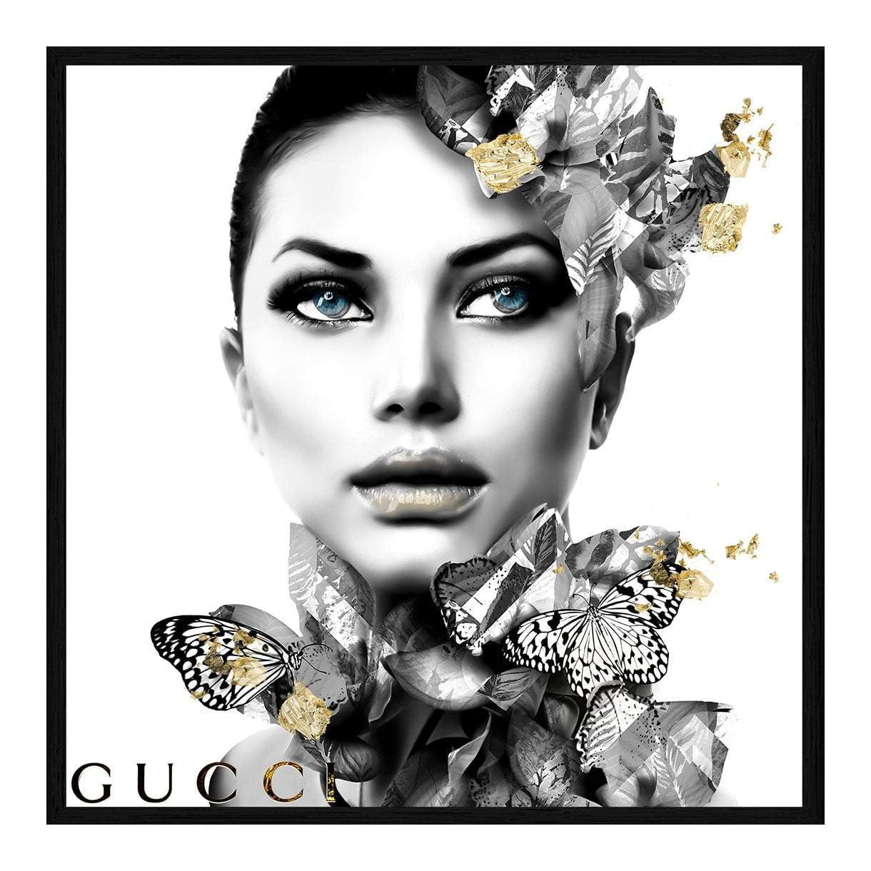 Claudia Gucci Fashion Wall Art