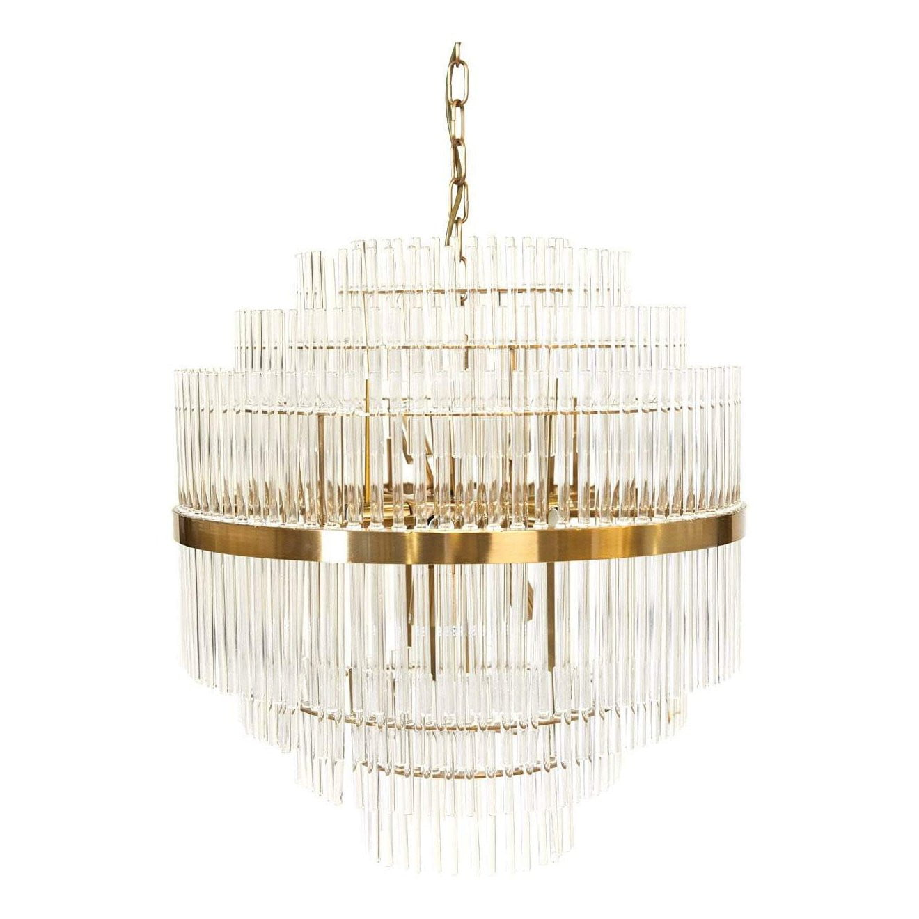 Lawrence Crystal Pendant Light