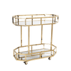 Brooklyn Drinks Trolley - Gold | Home Bar Furniture