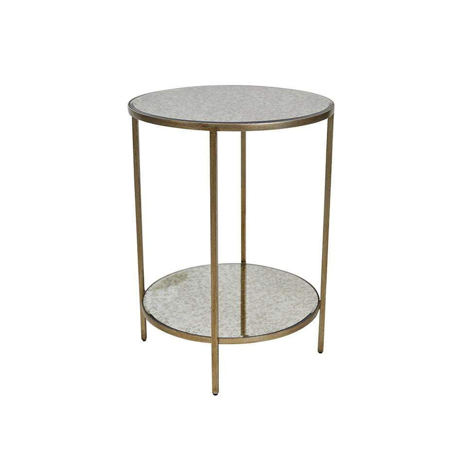 Cocktail Gold Furniture | Antique Gold Side Table
