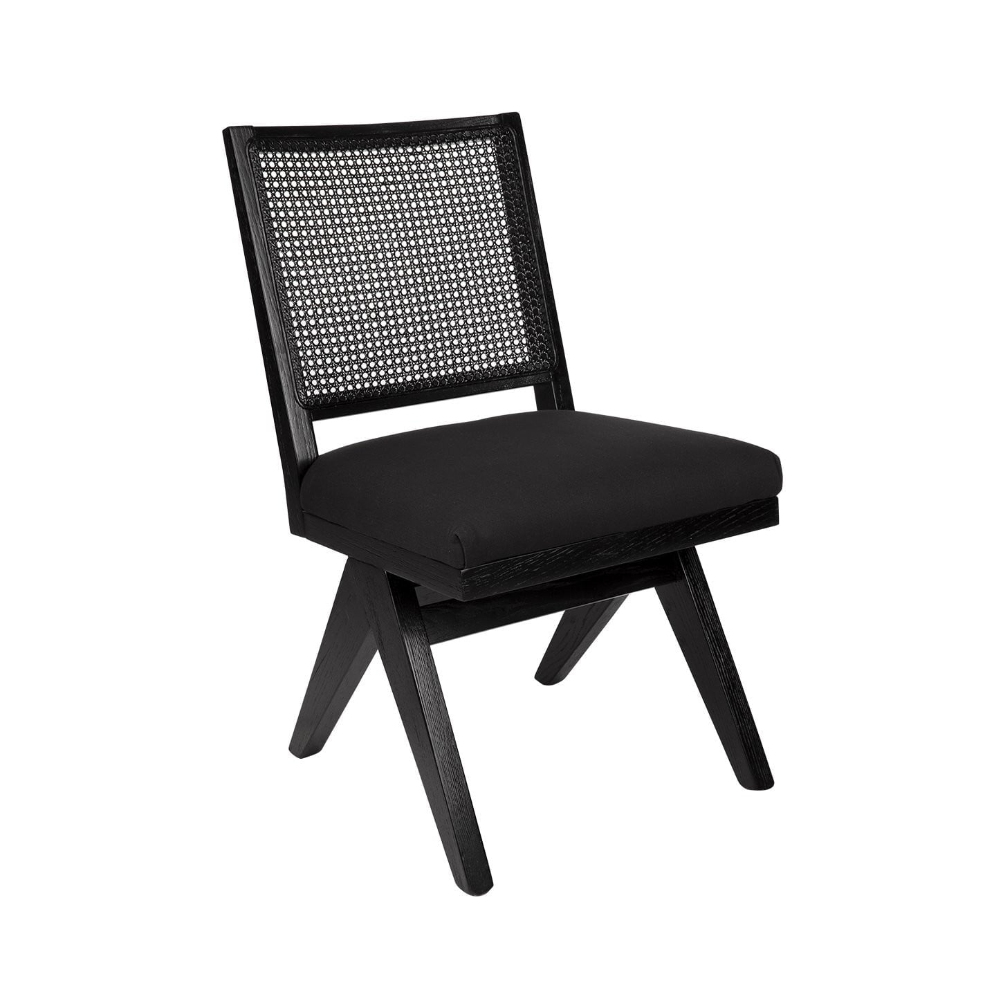 The Imperial Rattan Black Dining Chair Black | Attica Luxury Furniture Sydney