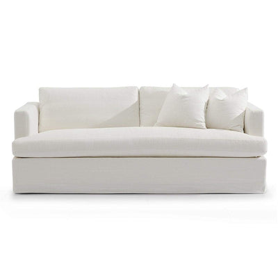 Birkshire Linen Sofa - 3 Seater White