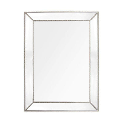 Zeta Large Antique Silver Mirror | Zeta Mirrors | Luxury Mirrors Sydney
