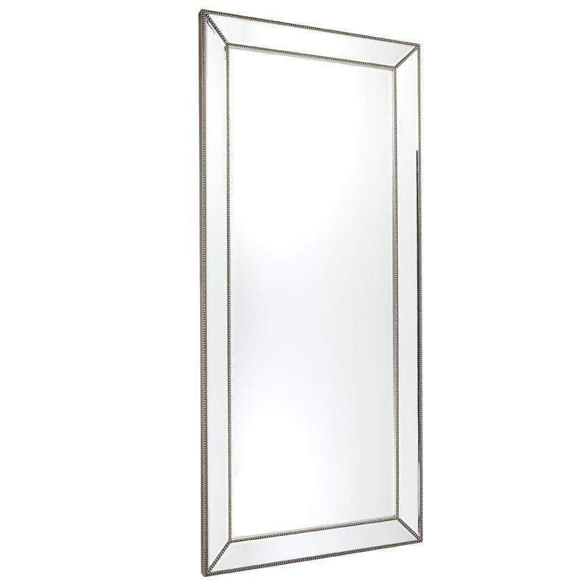 Zeta Floor Mirror - Antique Silver | Zeta Mirrors | Luxury Mirrors Sydney