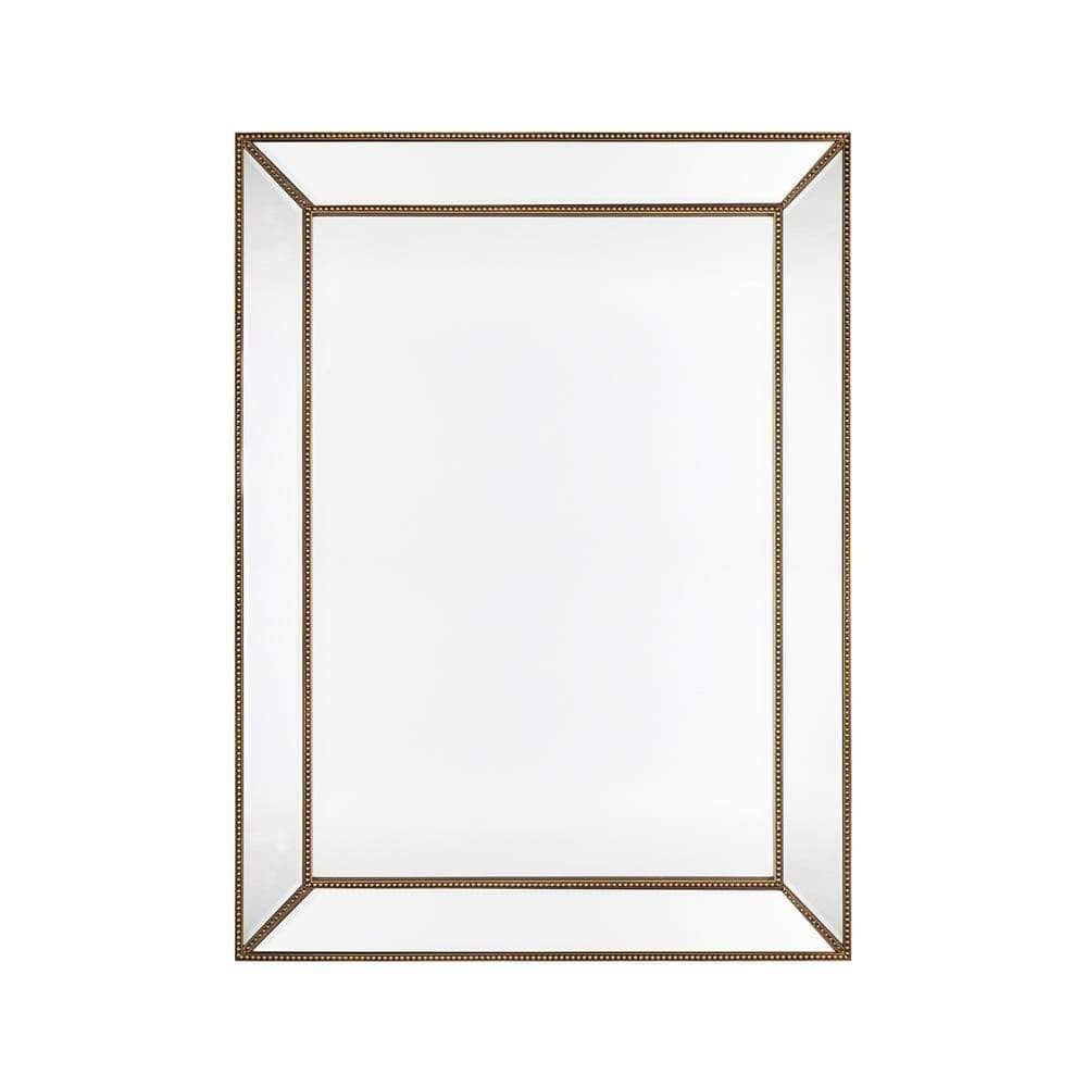 Zeta Large Wall Mirror - Gold Wall Mirrors front
