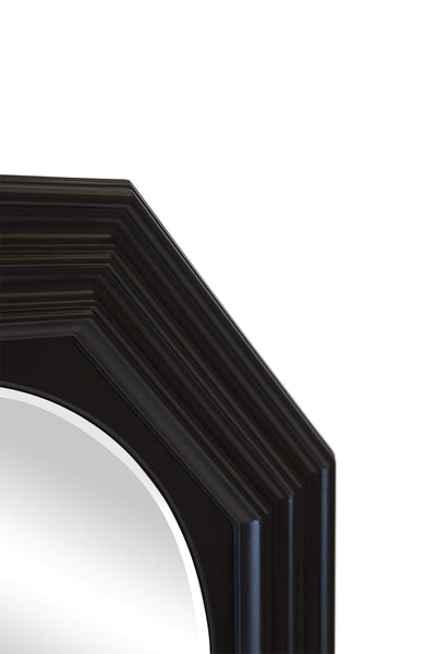 Reynolds Black Wall Mirror | Attica Luxury Furniture Sydney