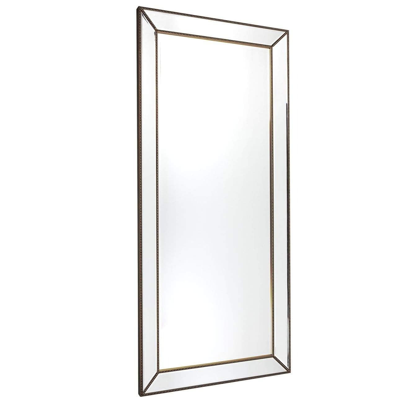 Zeta Floor Mirror - Antique Gold | Zeta Mirrors | Luxury Mirrors Sydney