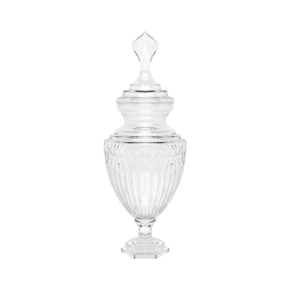 Laurent Glass Temple Jar