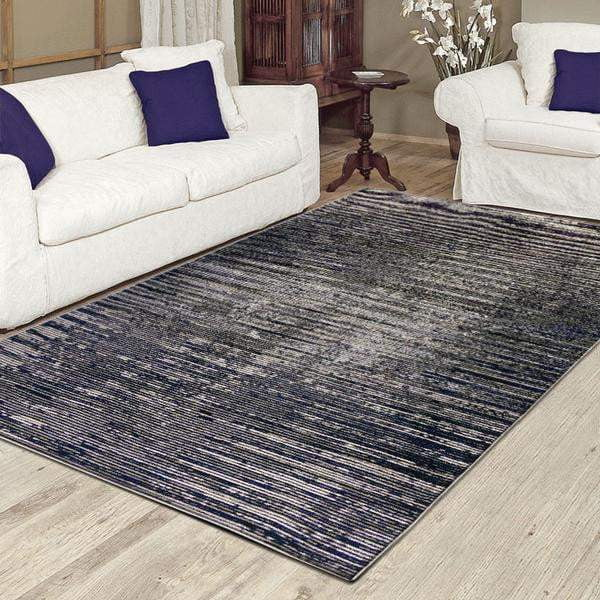 Aquila Blue and Grey Rug