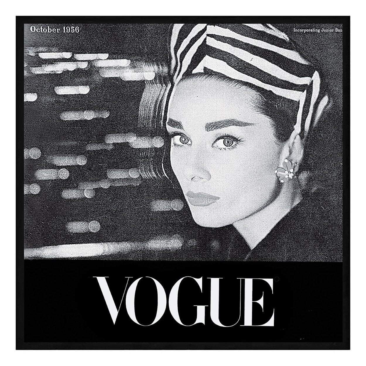 Audrey Vogue Cover Fashion Print