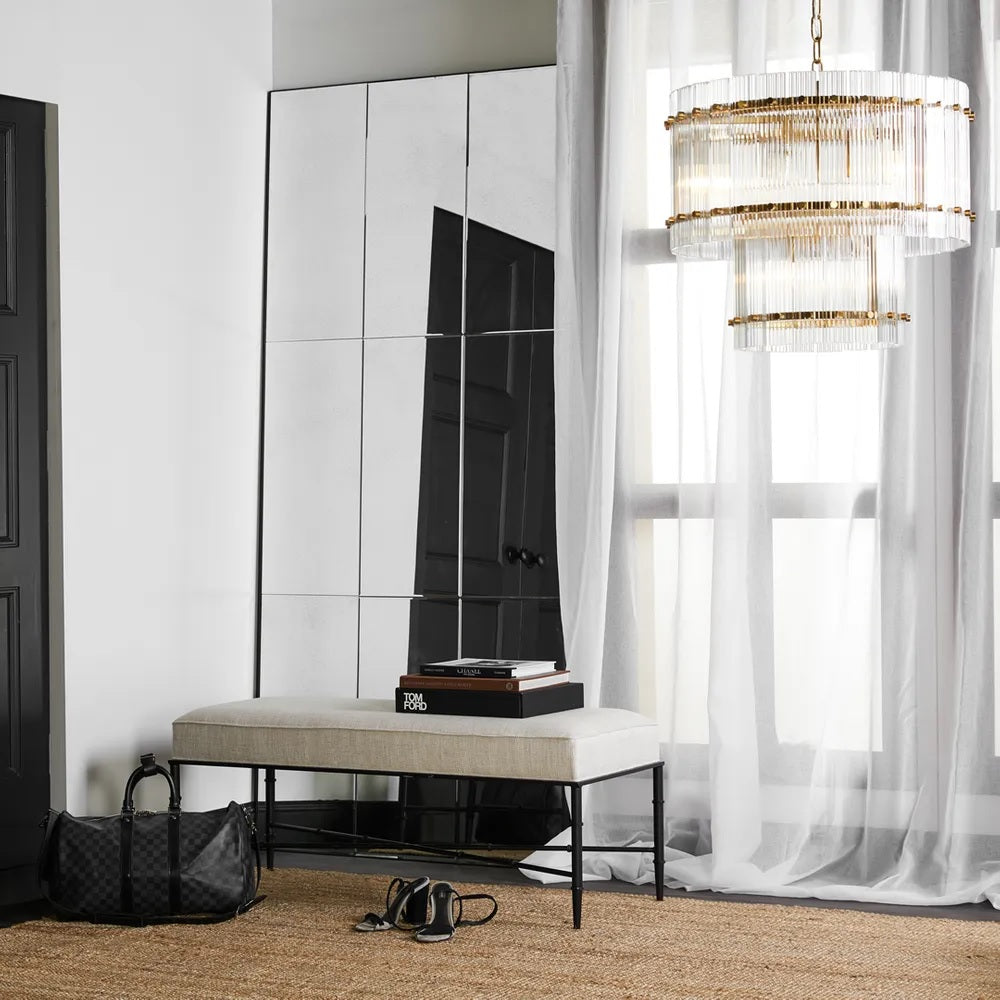 Beluga Paneled Floor Mirror | Attica Luxury Furniture Sydney