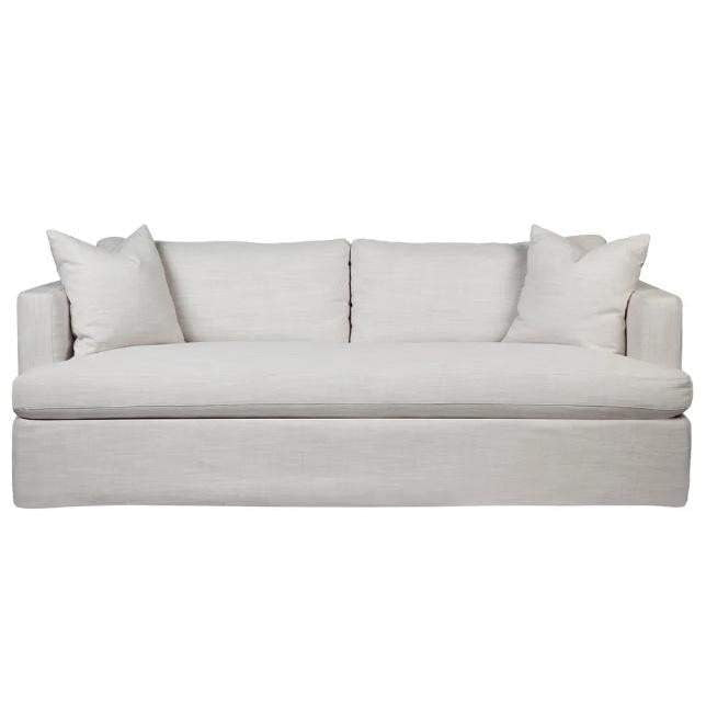 Birkshire Linen Sofa - 3 Seater Off White