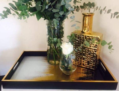 Gold Mist Luxury Tray - Cafe Lighting & Living