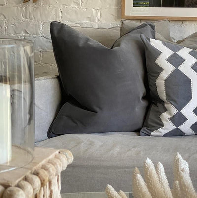 Bondi Grey Cushion Cover | Attica Luxury Furniture Sydney