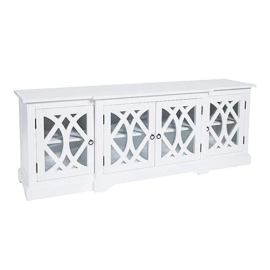 Boston Hamptons TV Unit - White