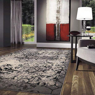 Bradford Contemporary Rug - Smoke