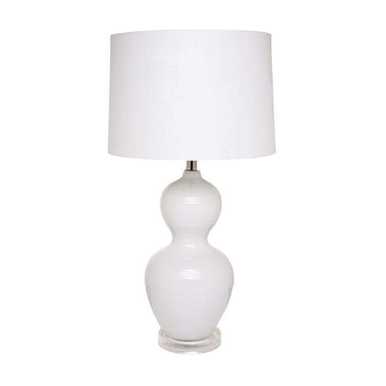 Bronte White Table Lamp | Attica Luxury Furniture