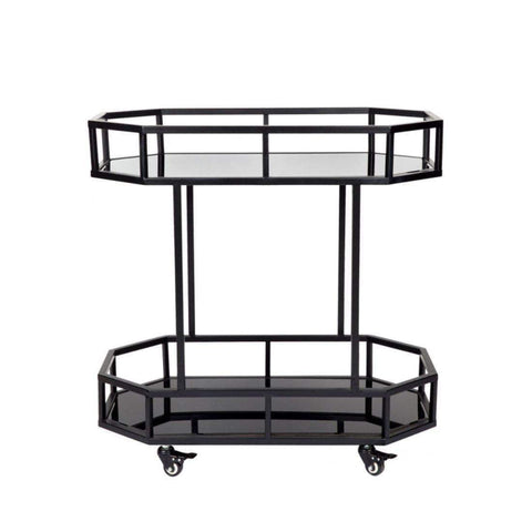 Brooklyn Home Bar Cart - Black