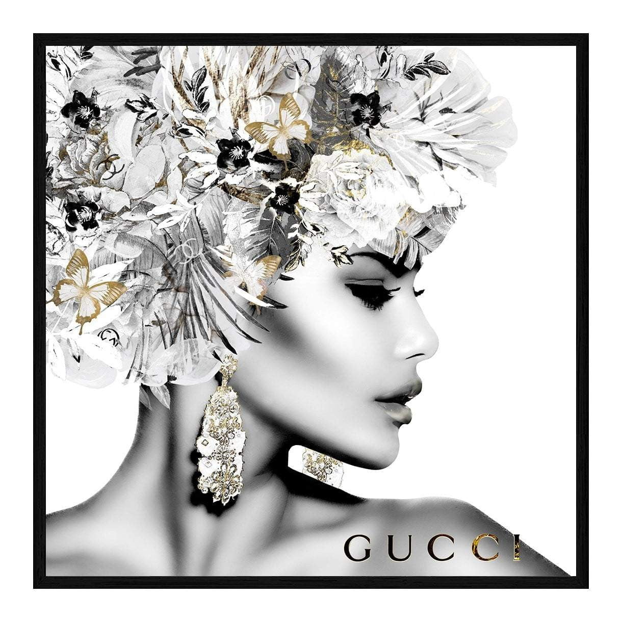 Celia Gucci Fashion Wall Art | Luxury Furniture Sydney
