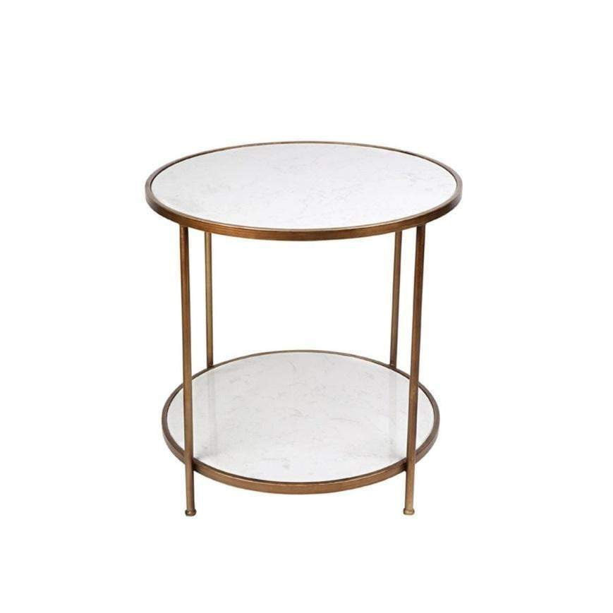 Cameron Gold Side Table | Luxury Furniture Sydney