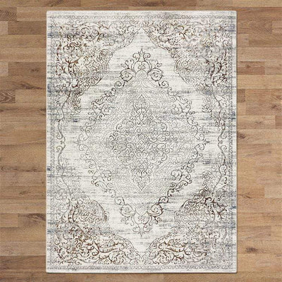 Mykonos Designer Rug Cream | Attica Luxury Furniture Sydney