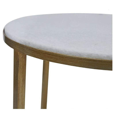 Chloe Gold Side Table Zoom