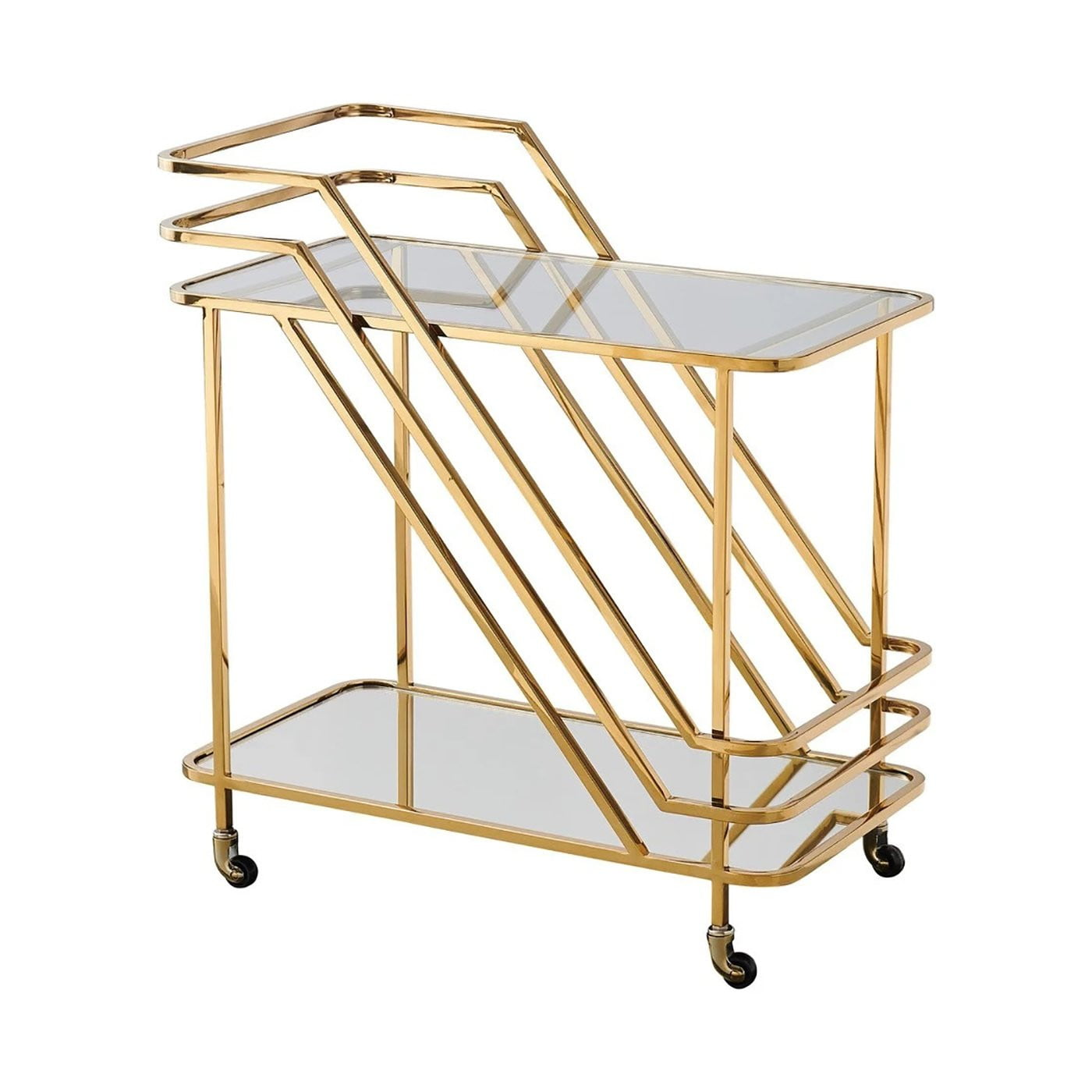 Coco Drinks Trolley Gold | Attica Luxury Furniture Sydney