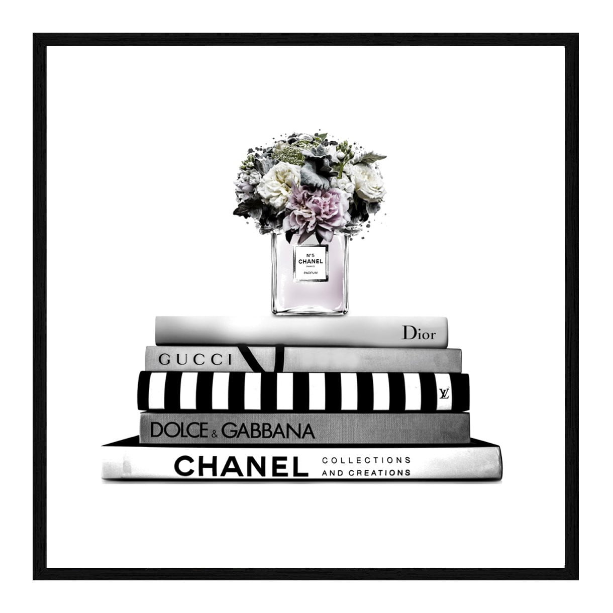 Chanel Fashion Wall Art