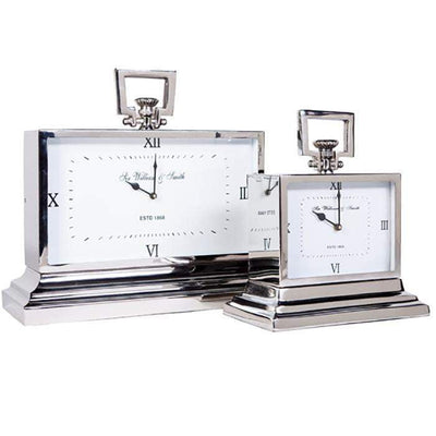 Jensen Desk Clock Range - White