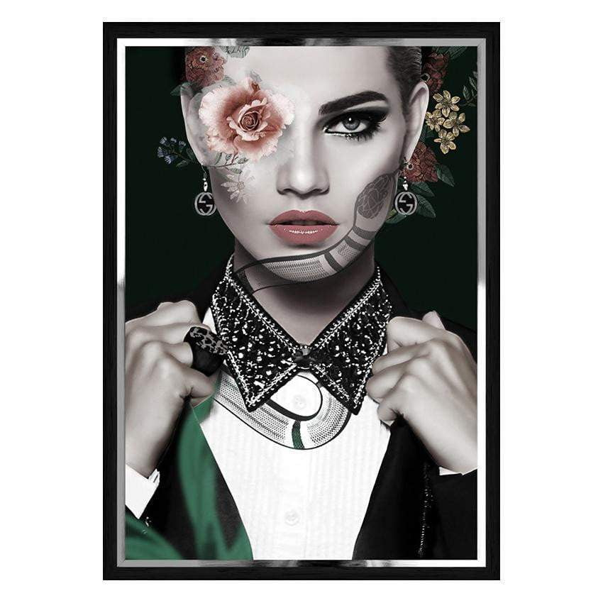 Giselle Fashion Wall Art - Portrait