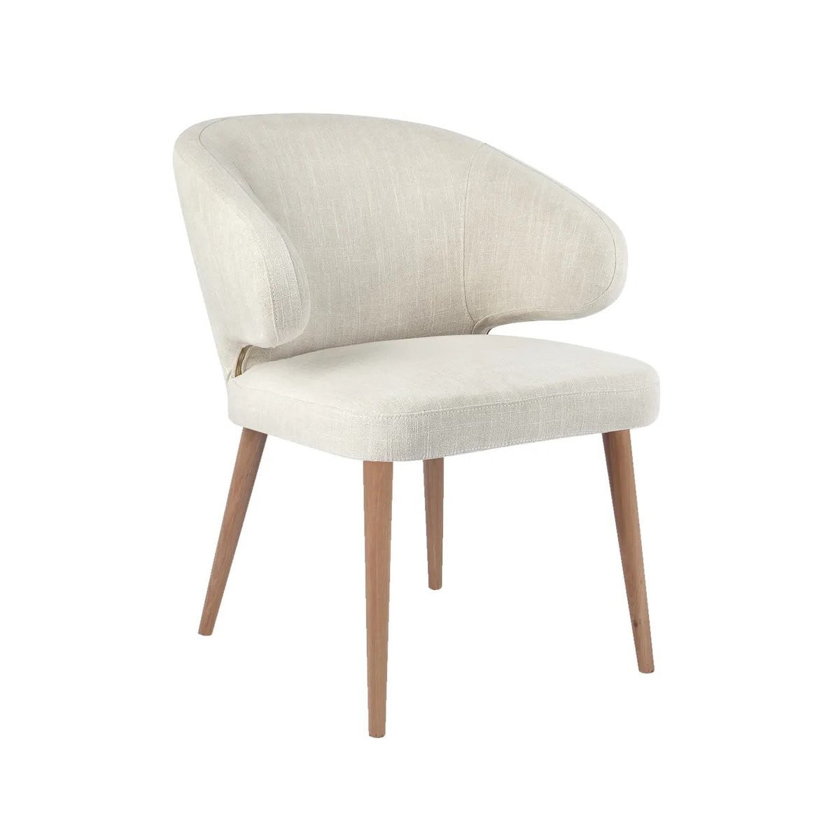 Harlow Dining Chair Natural Linen