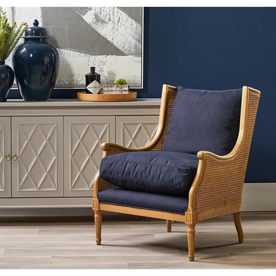 Havana Cane Armchair Natural | Luxury Furniture Sydney