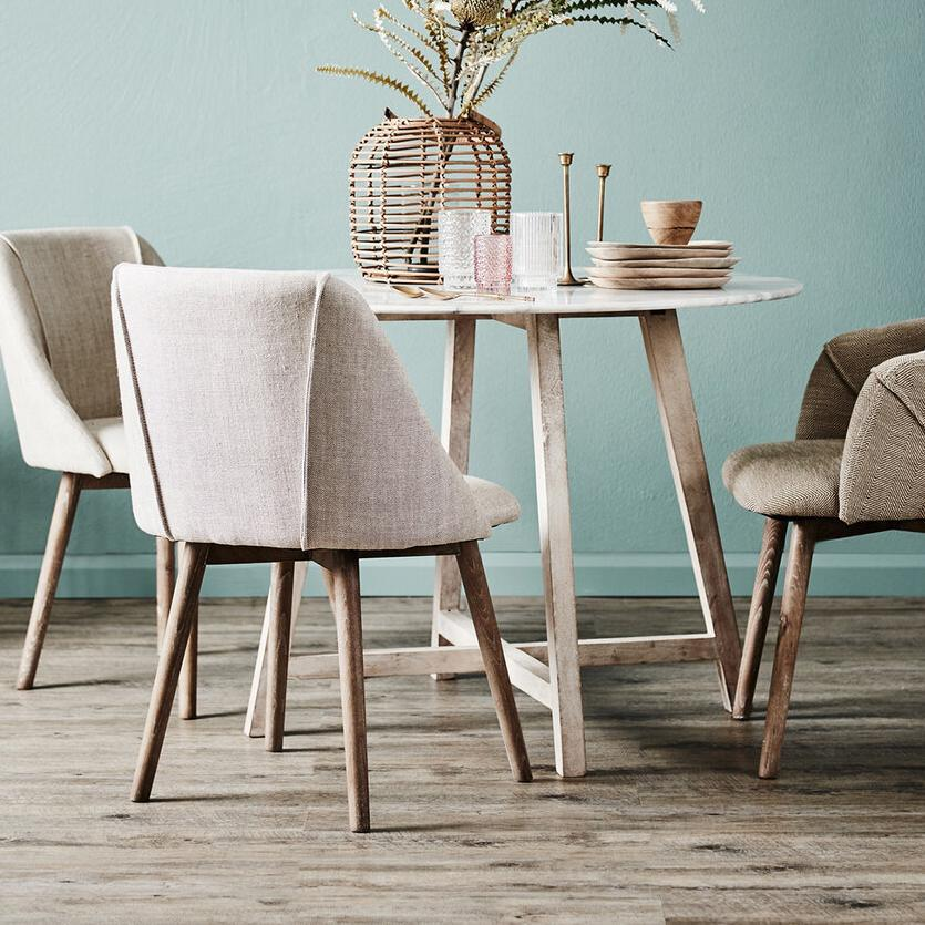 Irving Round Dining Table Small| Luxury Furniture Sydney