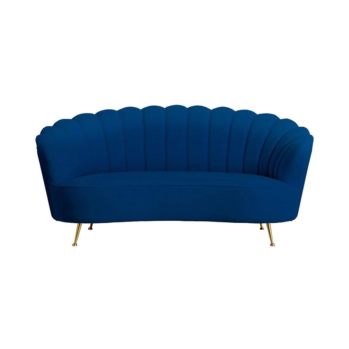 Manhattan Navy Velvet Sofa | Luxury Furniture Sydney