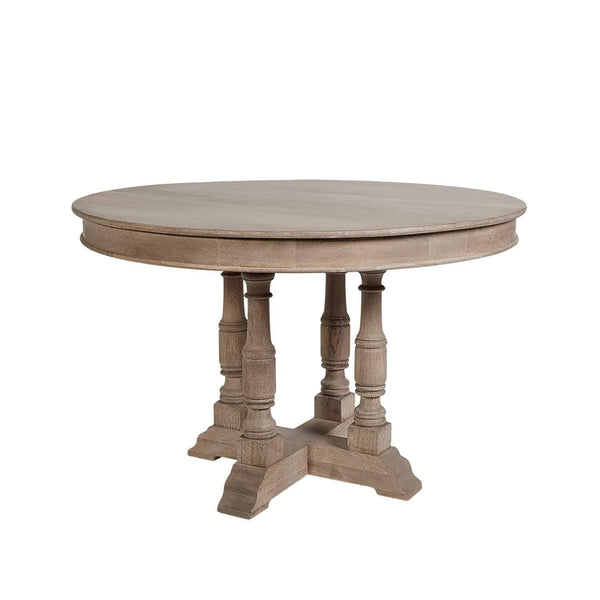 Maine French Classic Round Dining Table