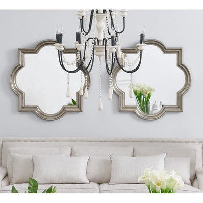 Marrakech Silver Wall Mirror | Attica Luxury Furniture Sydney