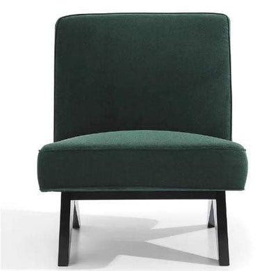 Martyn Slipper Chair Forest Green | Luxury Furniture Sydney