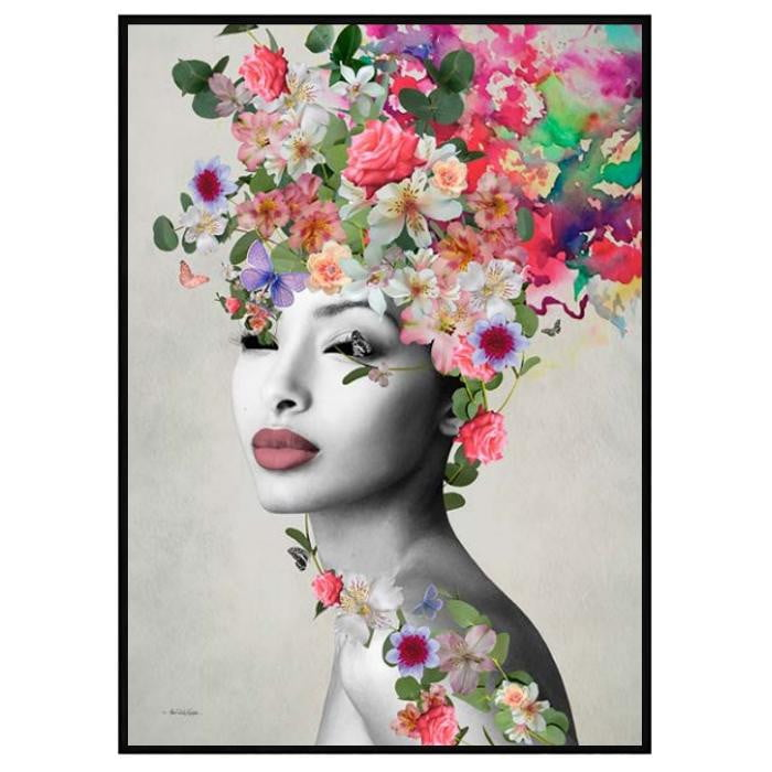 Mikka Rose Fashion Wall Art | Attica House Wall Art