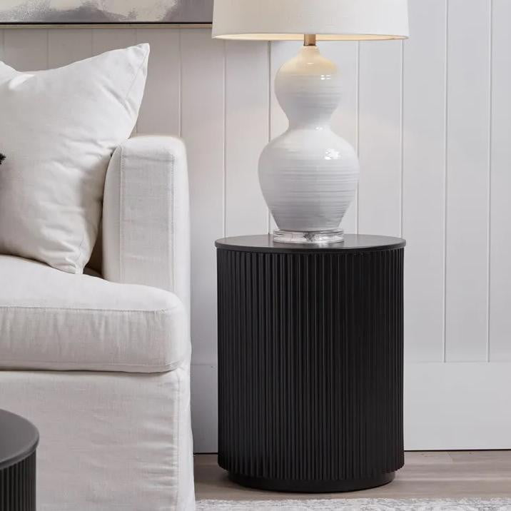 Nomad Side Table Black | Attica Home