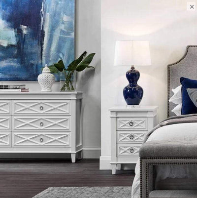 Plantation White Chest of Drawers