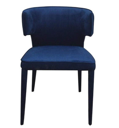 Portofino Blue Velvet Dining Chair | Luxury Furniture Sydney
