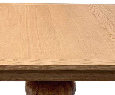 Salon Round Extension Dining Table | Round Oak Dining Table