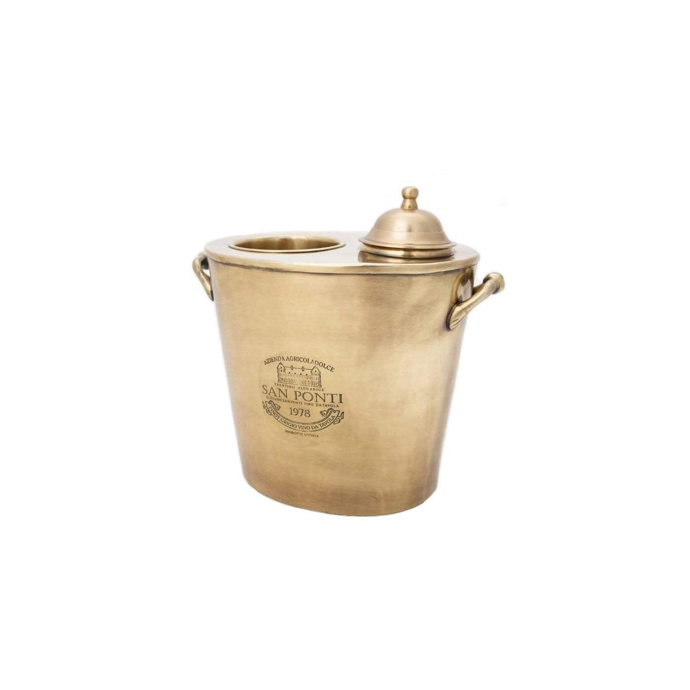 Brass Wine Cooler | Brass Drinks Bucket