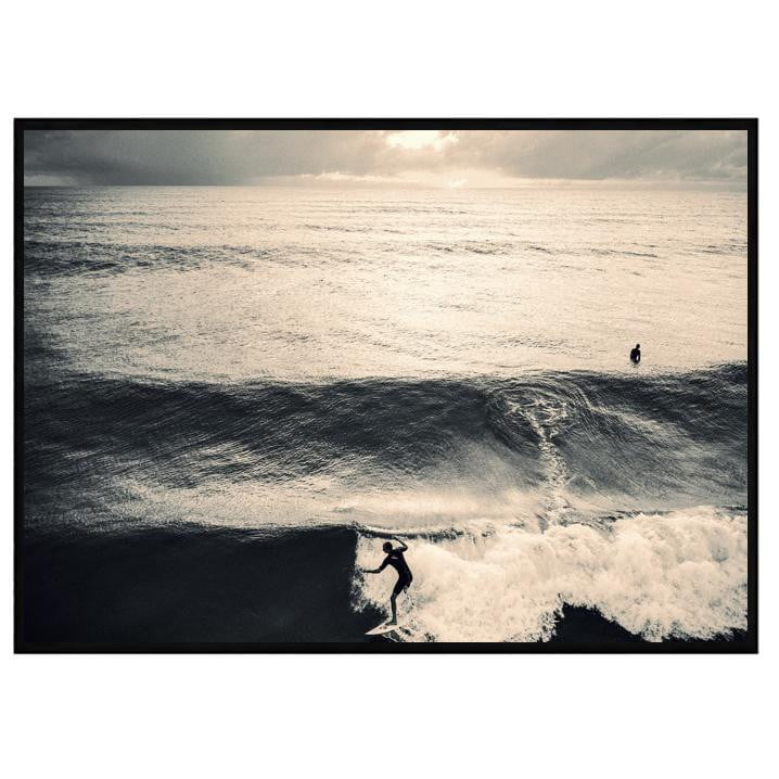 Sundown Black & White Coastal Art | Attica House Wall Art